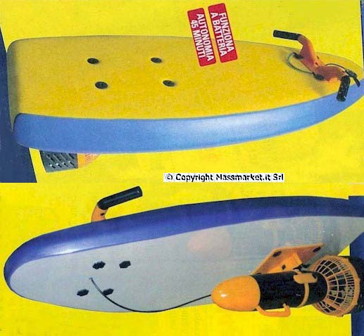 Surf elettrico - Tavola da surf a motore ...